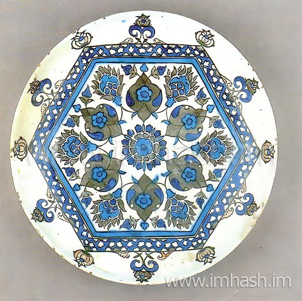 islamic ceramic dishes